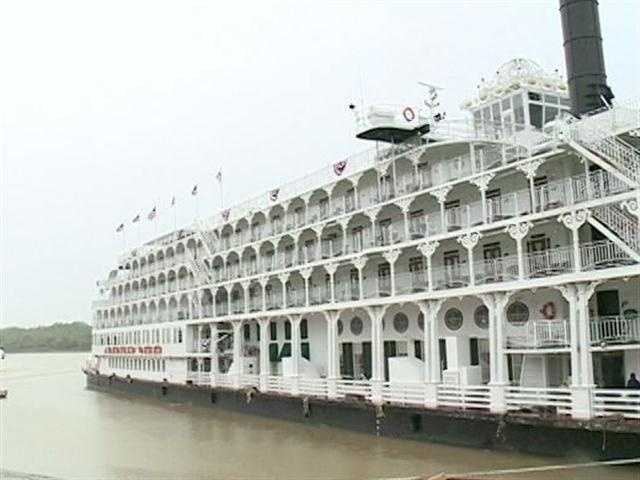 The American Queen steamboat