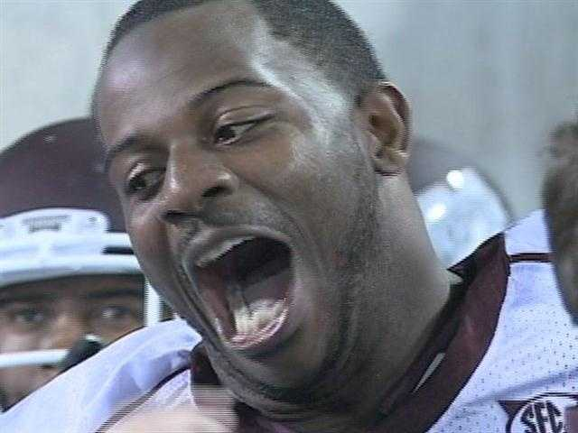 April 26: The Philadelphia Eagles traded up three spots to select Mississippi State defensive tackle Fletcher Cox with the No. 12 pick in the NFL draft.