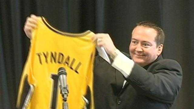 Donnie Tyndall in 2012 at the University of Southern Mississippi.