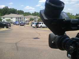The shooting happened Tuesday at Colony Park Apartments in Pearl.