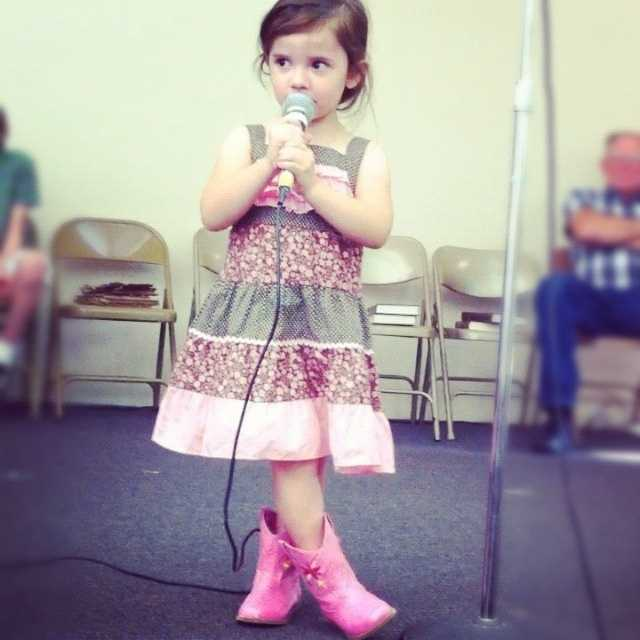 Skylar's family have said that she was born to sing.