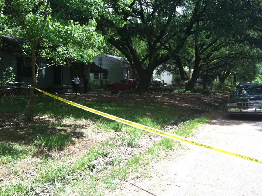 Officers arrived at the scene about 11:30 a.m.