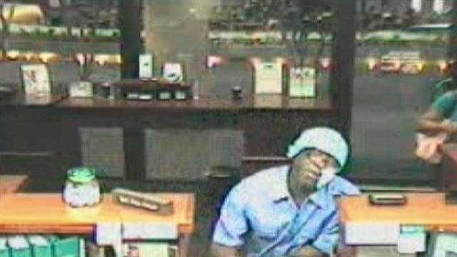 Jackson Police have released surveillance video form a masked bank robbery.