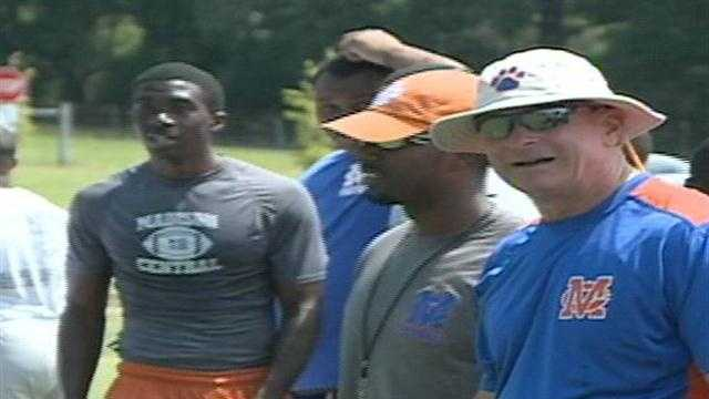 There is no offseason for high school football, as evidence by Friday's 7 on 7 camp at Ridgeland.