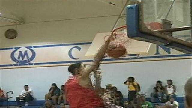 The first ever JPS All Star basketball game churns out monster dunks