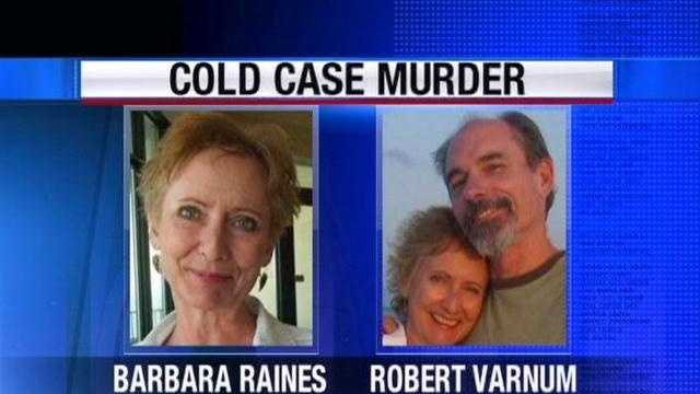 Robert Varnum and Barbara Raines were shot to death in April at the home they shared in Utica.