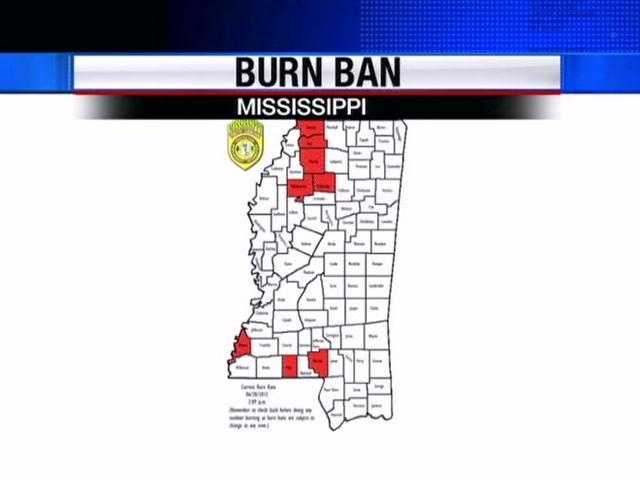This dry weather we're experiencing has caused forestry leaders to issue burn bans.