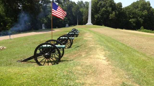 The Vicksburg National Military Park