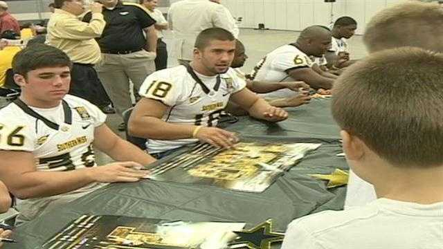 Golden Eagles descend on capital city