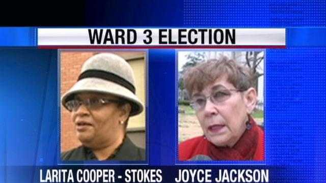 Residents in Jackson's ward 3 will head back to the poll in a hotly contested runoff election.