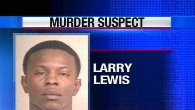 U.S. marshals arrest Larry Lewis, who was wanted in connection with a Jackson slaying.
