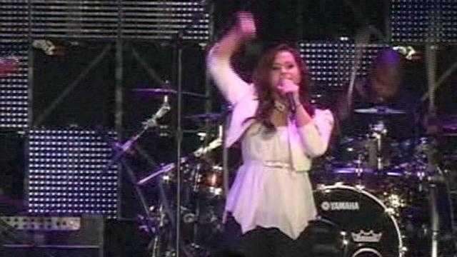 Skylar Laine performs at Brandon Days.
