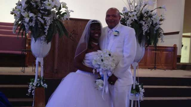 Te'Andrea and Charles Wilson were married at a predominantly black church after they say they weren't allowed to marry at First Baptist Church of Crystals Springs.