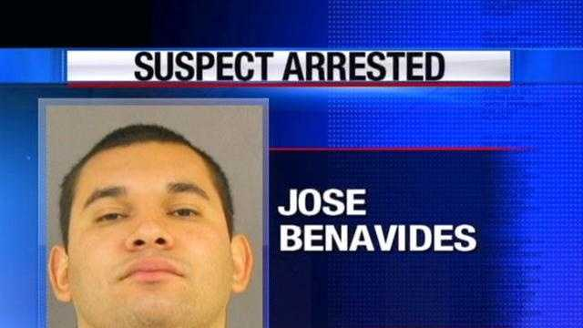 Police have charged 23-year-old security guard Jose Benavides with murder a man at an apartment complex.