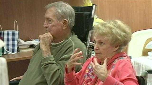 Jerry and Betty Byrd have been suffering from the West Nile virus for about a month.