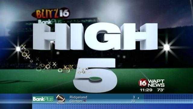 99 yard kickoff takes top honors on High 5.