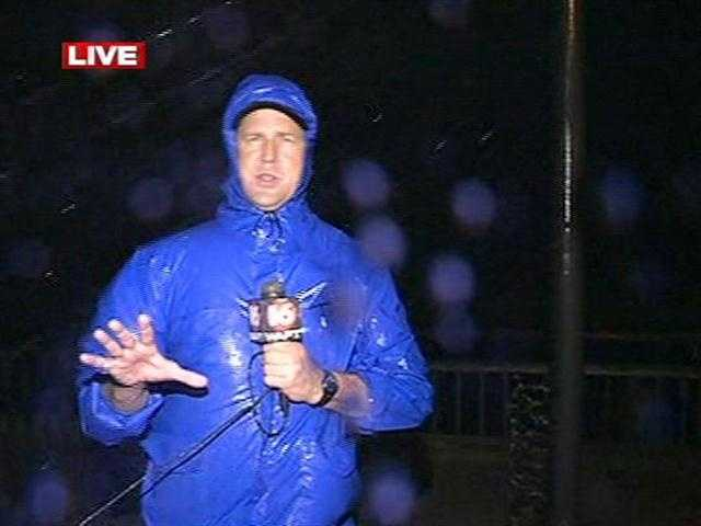 16 WAPT's Scott Simmons is live in Bay St. Louis as Hurricane Isaac pounds the Gulf Coast.