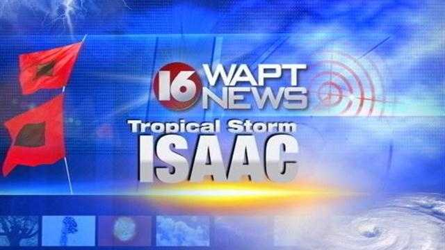 16 WAPT Meteorologist Ethan Huston has the latest on Isaac.