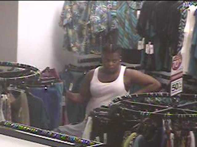 Police say thefts took place at Northpark Mall.