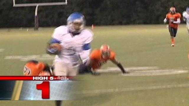Game of the Week playmaker takes top honors