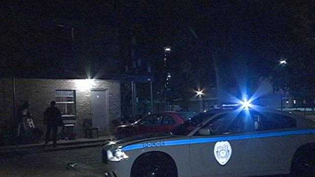 Police say a man was injured in a drive-by shooting in Jackson.