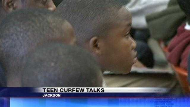 It's an issue that isn't goig away in Jackson.  Should the city have a curfew for kids to keep them off the streets?  One Jackson City Council woman says yes.