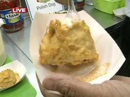 Fried macaroni and cheese is on the menu this year at the Mississippi State Fair.