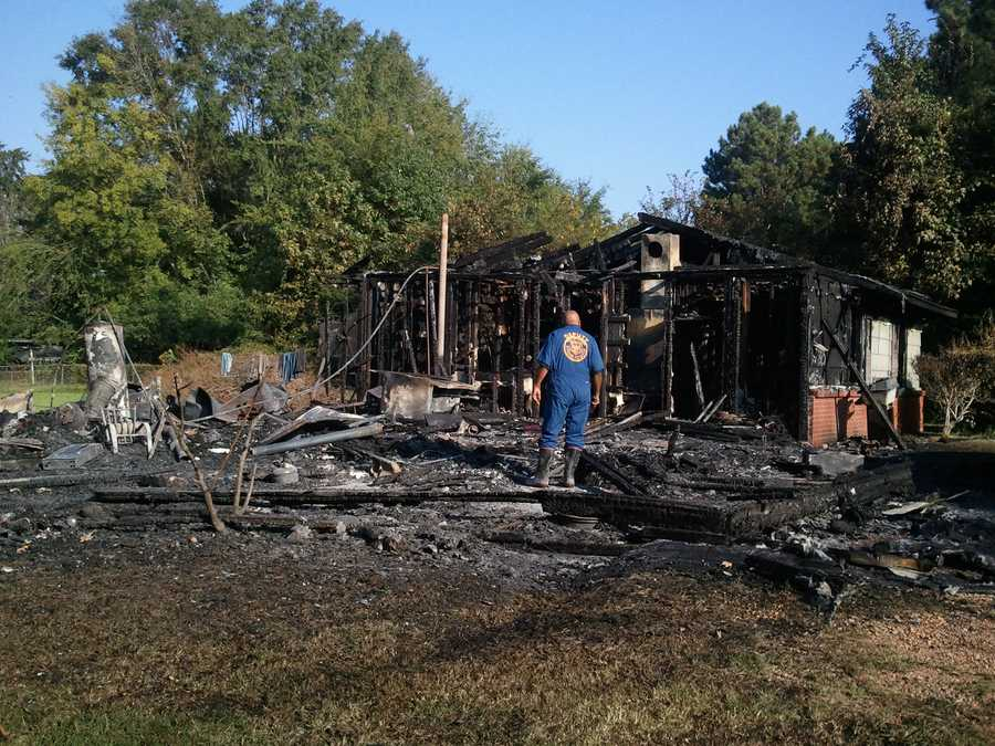 Three brothers were inside the home when the fire broke out.