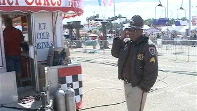 Man shot in foot at Mississippi State Fair