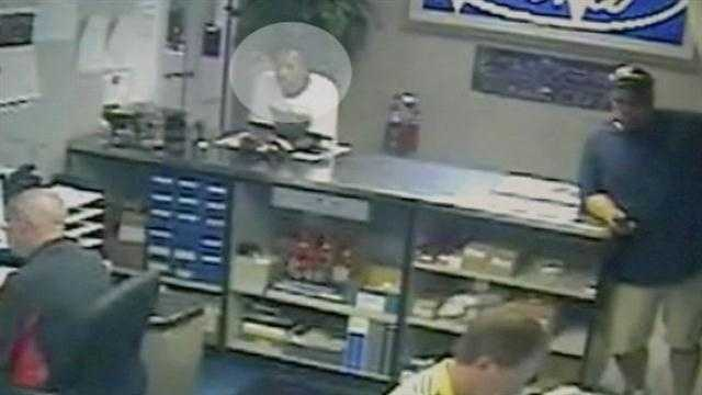 Police looking for man seen using stolen checks