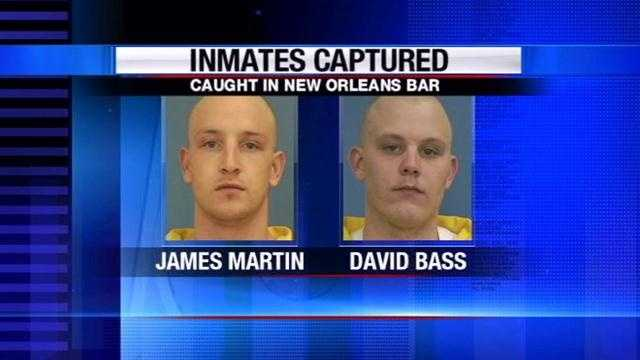Forrest County inmates caught