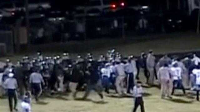 Vicksburg Murrah fight