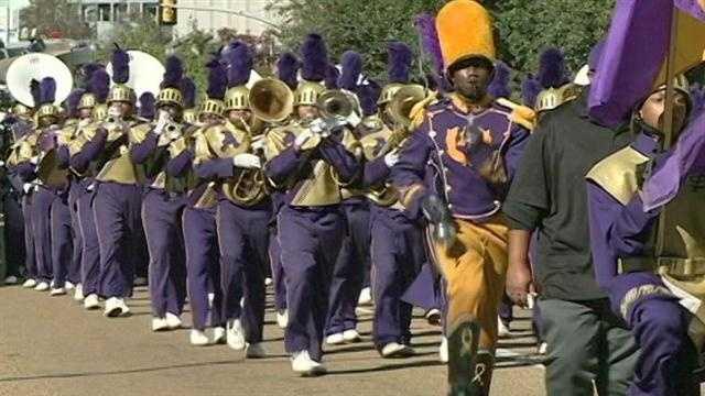 St. Augustine at JSU homecoming parade