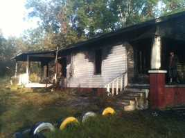 A house on Morson Road caught fire about 4 a.m. Friday.