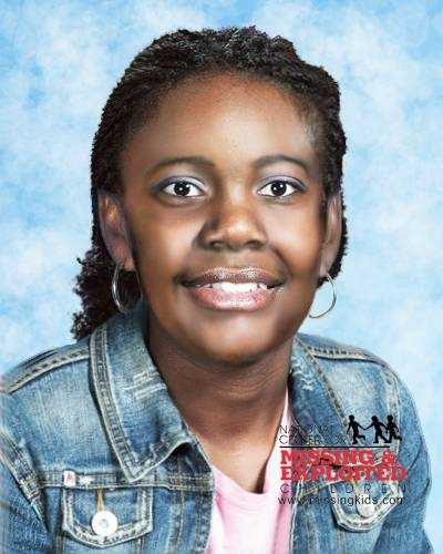 Kreneice Jones would be 23 years old today. This age-progressed photo shows Kreneice at age 21.