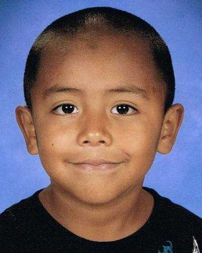"""Diego Armando Pachecano was last seen on May 30, 2012 in Pontotoc, MS at age 7. He is 4'0"""" and 75 lbs. He is believed to be with his brothers Jose and Alexis. All three brothers are believed to have been taken by their Father, Tomas Pachecano. Tomas now has a felony warrant and they may have traveled to Mexico."""