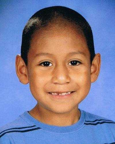 """Jose Pascual Pachecano was last seen on May 30, 2012 in Pontotoc, MS at age 9. He is 4'3"""" and 90 lbs. He is believed to be with his younger brothers Diego and Alexis. All three brothers are believed to have been taken by their Father, Tomas Pachecano. Tomas now has a felony warrant and they may have traveled to Mexico."""