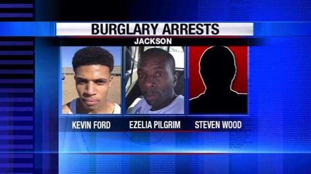 Jackson burglary Willow Run arrests