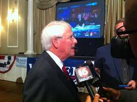 Roger Wicker wins re-election to the U.S. Senate.