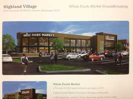 A new Whole Foods Market is going up at Highland Village.