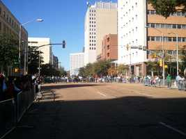 Veterans were honored Saturday during the city of Jackson's first Annual Veterans Day Parade.