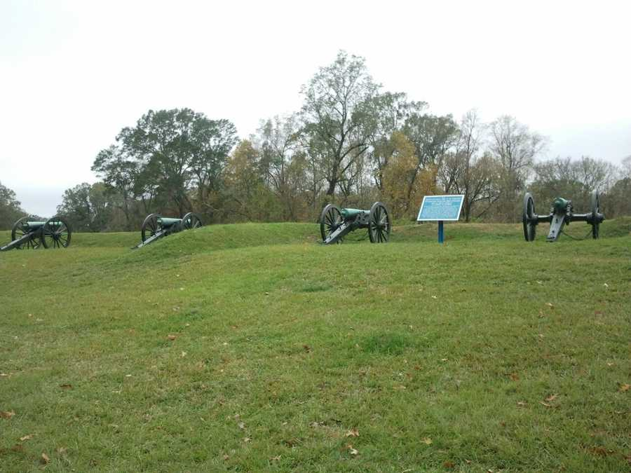 The National Park Service offered free admission over the weekend and through Monday evening at the Vicksburg National Military Park.