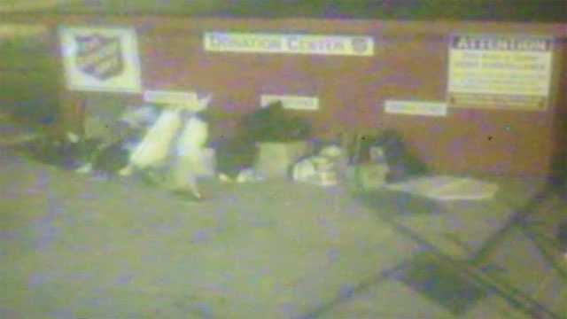 Surveillance video salvation army