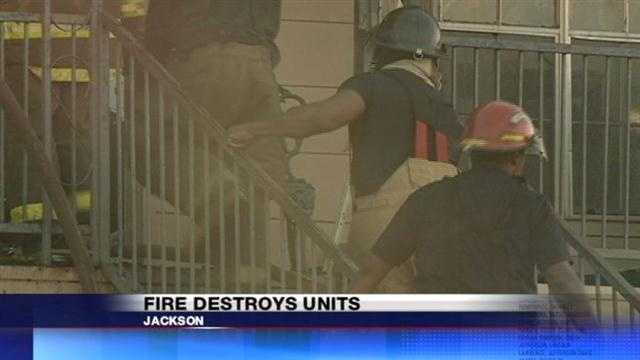 Jackson Apartment Fire