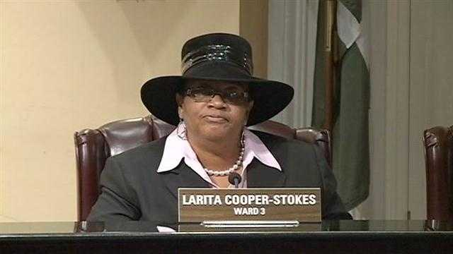 Ward 3 City Councilwoman LaRita Cooper-Stokes