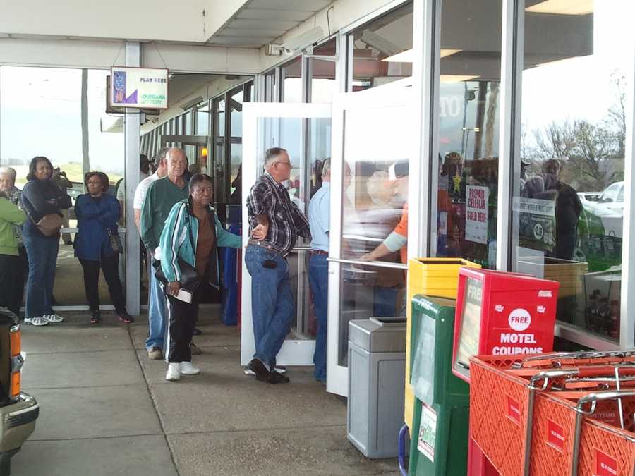 Long lines have been forming this week at the Chevron in Delta.