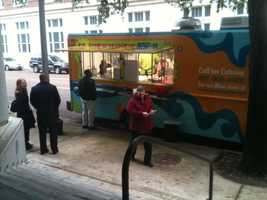 LurnyD's is Jackson's first food truck.