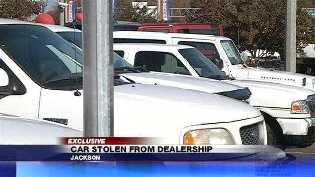 Stolen SUV