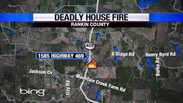 Rankin County fatal fire map