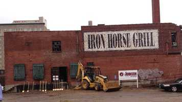 Redevelopment plans are moving forward for the Iron Horse Grill, a Jackson landmark abandoned since a fire in 1999.